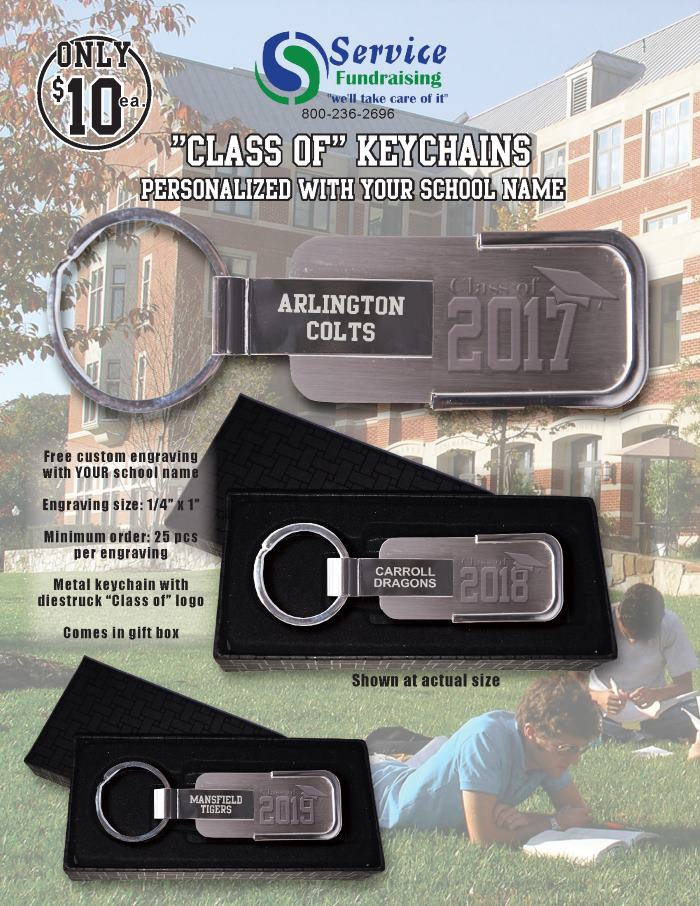 Class Of Keychains Order Taker Program